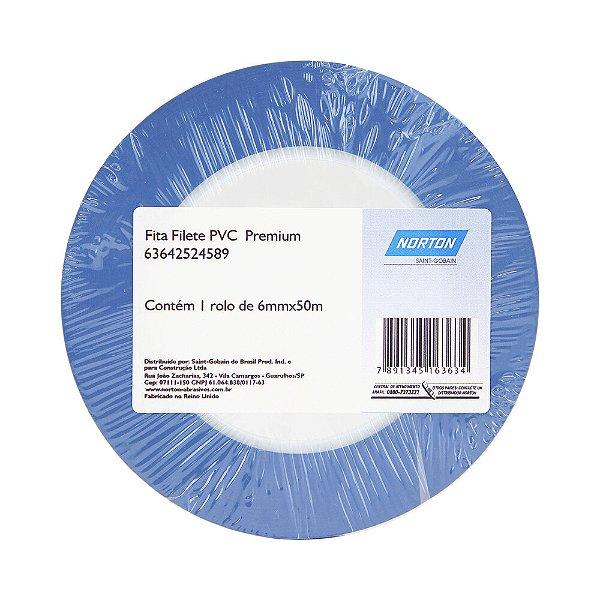 Fita PVC Filete Premium 6 x 50 m Caixa com 10