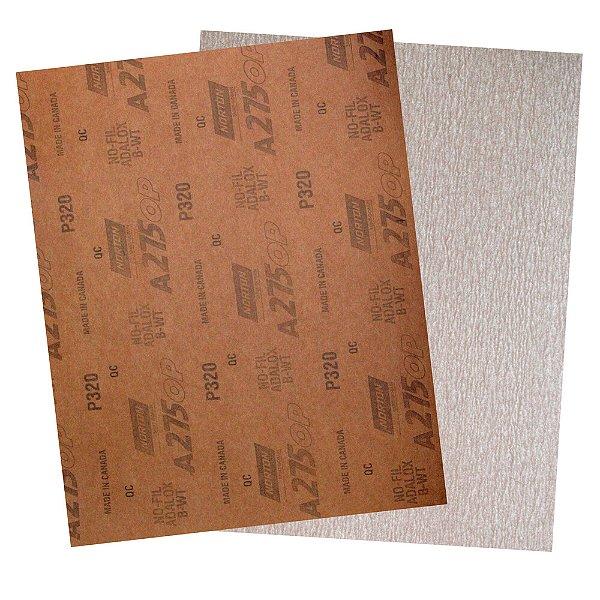 Folha de Lixa A275 Grão 320 230 x 280 mm Pacote com 200