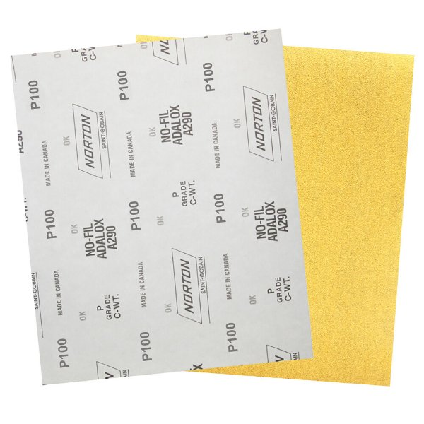 Pacote com 200 Folha de Lixa A290 Grão 100 230 x 280 mm