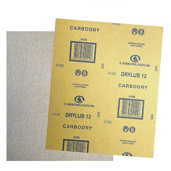 Pacote com 500 Folha de Lixa DryLub CAR12 Grão 100 225 x 275 mm