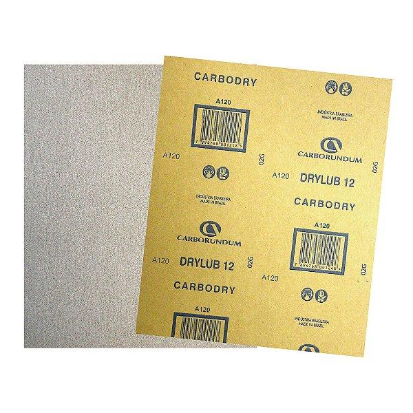 Pacote com 500 Folha de Lixa DryLub CAR12 Grão 120 225 x 275 mm