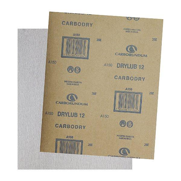 Pacote com 500 Folha de Lixa DryLub CAR12 Grão 150 225 x 275 mm