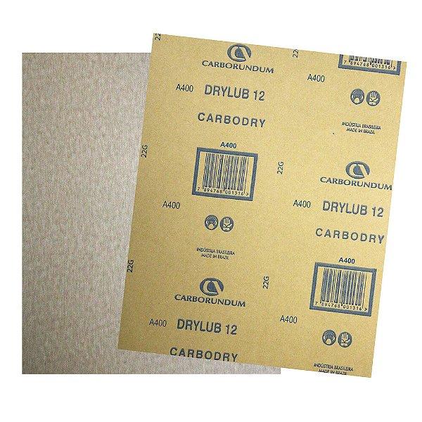 Pacote com 500 Folha de Lixa DryLub CAR12 Grão 400 225 x 275 mm