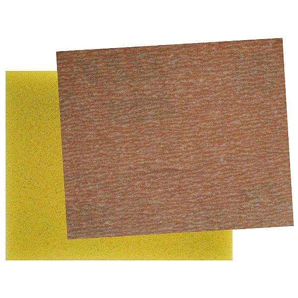 Caixa com 100 Folha de Lixa Soft-Touch A275 Grão 600 95 x 115 mm