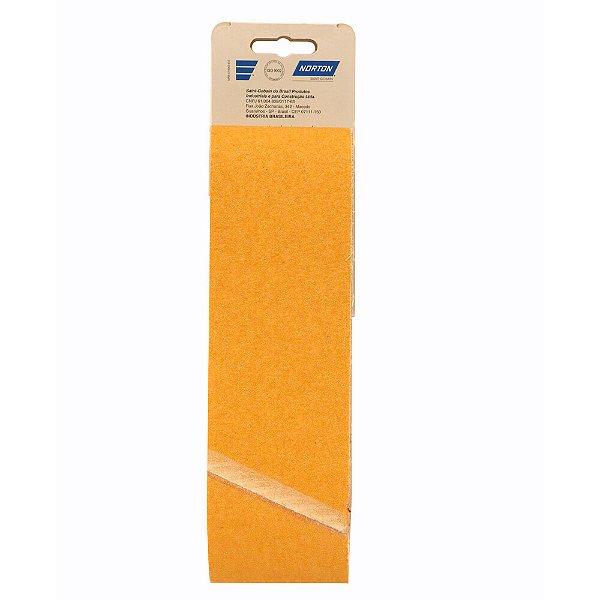 Caixa com 10 Kit Cinta de Lixa Estreita K121 Adalox Pano Grão 80 533 x 75 mm