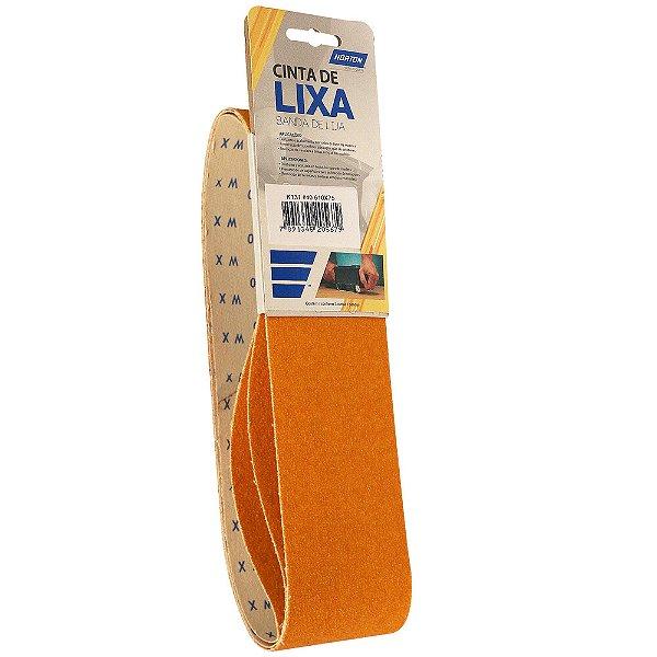 Caixa com 10 Kit Cinta de Lixa Estreita K131 Adalox Pano Grão 40 610 x 75 mm