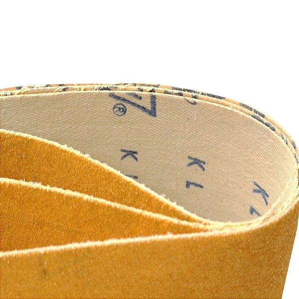 Kit Cinta de Lixa Estreita K131 Adalox Pano Grão 60 610 x 75 mm Caixa com 10