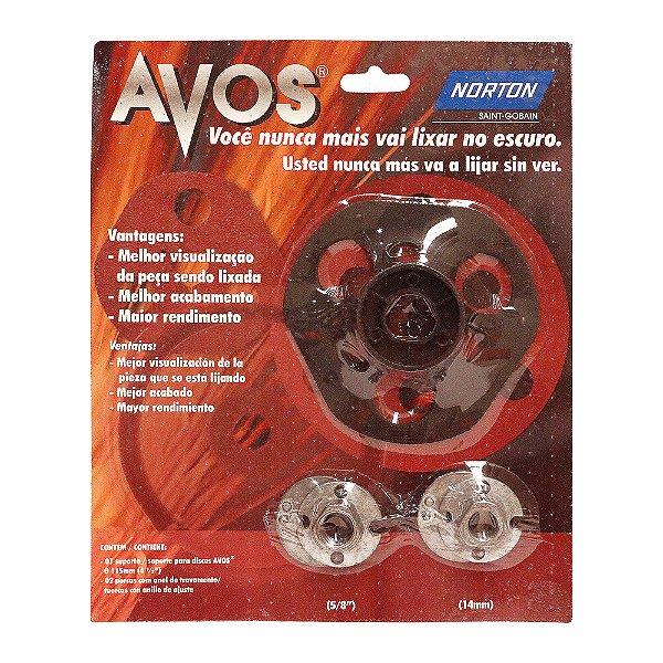 Kit Suporte Disco Avos 115 x 22 mm Caixa com 5