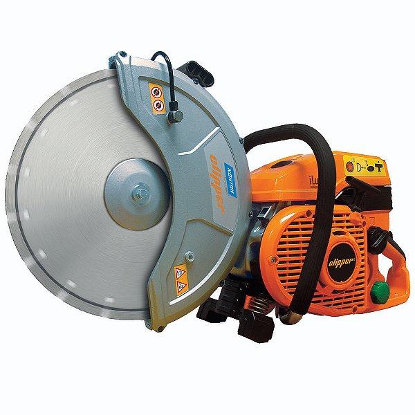 Caixa com 1 Máquina Clipper CP514-350 iLUBE SAM IMP Manual para Concreto e Asfalto