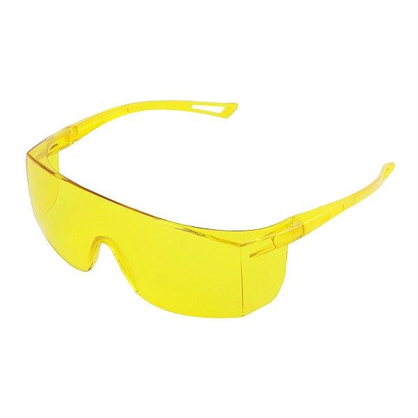Caixa com 20 Óculos de Segurança Norsafety - Ambar