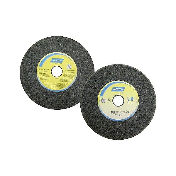 Caixa com 5 Rebolo Afiação de Serras Óxido de Alumínio Cinza Chanfrado 254 x 12,70 x 31,75 mm A46O5VC1