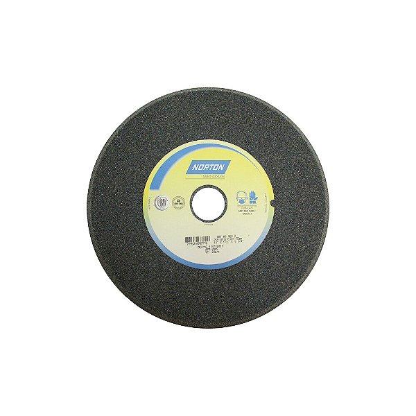 Caixa com 5 Rebolo Afiação de Serras Óxido de Alumínio Cinza Chanfrado 254 x 12,70 x 31,75 mm A60O5VC1