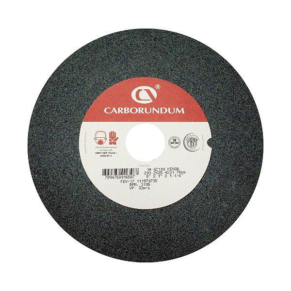 Caixa com 5 Rebolo Afiação e Retíficação Ferramentas de Metal Duro Widia 203,2 x 25,4 x 31,75 mm 1A GC100 K5VGW