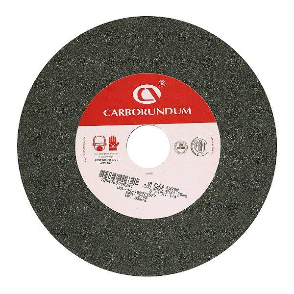 Rebolo Afiação e Retíficação Ferramentas de Metal Duro Widia 203,2 x 25,4 x 31,75 mm 1A GC60 K5VGW Caixa com 5