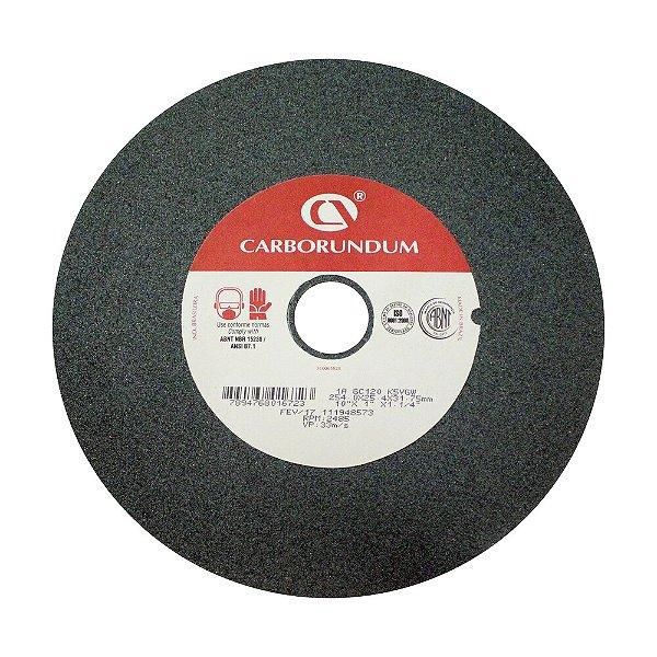 Rebolo Afiação e Retíficação Ferramentas de Metal Duro Widia 254,0 x 25,4 x 31,75 mm 1A GC120 K5VGW Caixa com 3