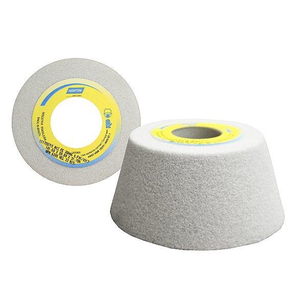 Caixa com 4 Rebolo Afiação e Retíficação Óxido de Alumínio Branco Copo Cônico 101,6 x 50,8 x 31,75 mm ACC FE 38A46K