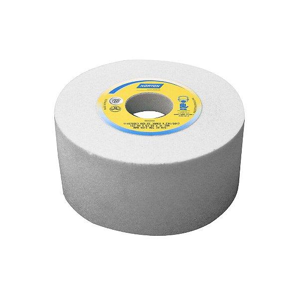 Rebolo Afiação e Retíficação Óxido de Alumínio Branco Copo Reto 127 x 63,5 x 31,75 mm ACR FE 38A60K Caixa com 4