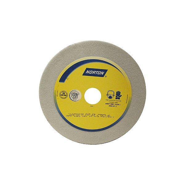 Caixa com 2 Rebolo Afiação e Retíficação Óxido de Alumínio Branco Copo Reto 254,0 x 101,6 x 38,10 mm ACR FE 38A46J
