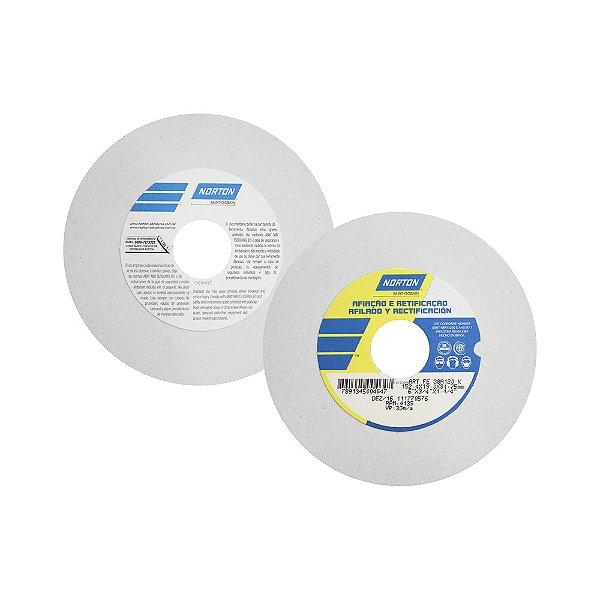 Rebolo Afiação e Retíficação Óxido de Alumínio Branco Reto 152,4 x 19,0 x 31,75 mm ART FE 38A120K Caixa com 3
