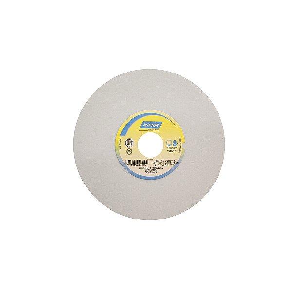 Caixa com 3 Rebolo Afiação e Retíficação Óxido de Alumínio Branco Reto 203,20 x 12,70 x 31,75 mm FE 38A46KVS