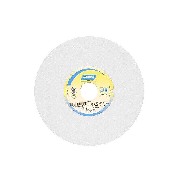 Caixa com 3 Rebolo Afiação e Retíficação Óxido de Alumínio Branco Reto 203,20 x 19 x 31,75 mm FE 38A80KVS