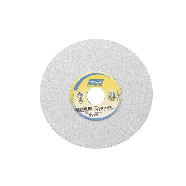 Caixa com 3 Rebolo Afiação e Retíficação Óxido de Alumínio Branco Reto 203,20 x 25,40 x 31,75 mm FE 38A46KVS
