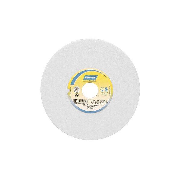 Caixa com 3 Rebolo Afiação e Retíficação Óxido de Alumínio Branco Reto 203,20 x 25,40 x 31,75 mm FE 38A80KVS