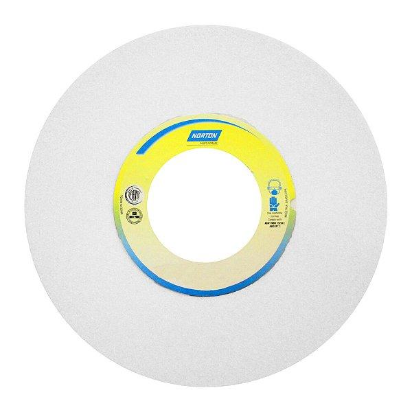 Caixa com 1 Rebolo Afiação e Retíficação Óxido de Alumínio Branco Reto 254 x 25,40 x 38,10 mm FE 38A60KVS