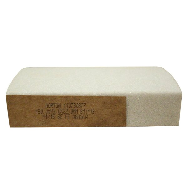 Rebolo Afiação e Retíficação Óxido de Alumínio Branco Segmentos 150 x 93 x 32 mm FE 38A36H B11118 Caixa com 8