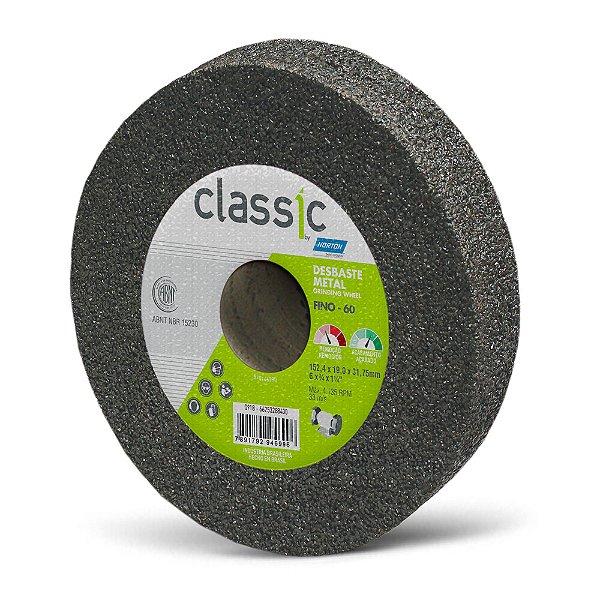 Rebolo Desbaste Metal Classic Grosso 152,4 x 19 x 31,75 mm A60 R VCL Caixa com 10