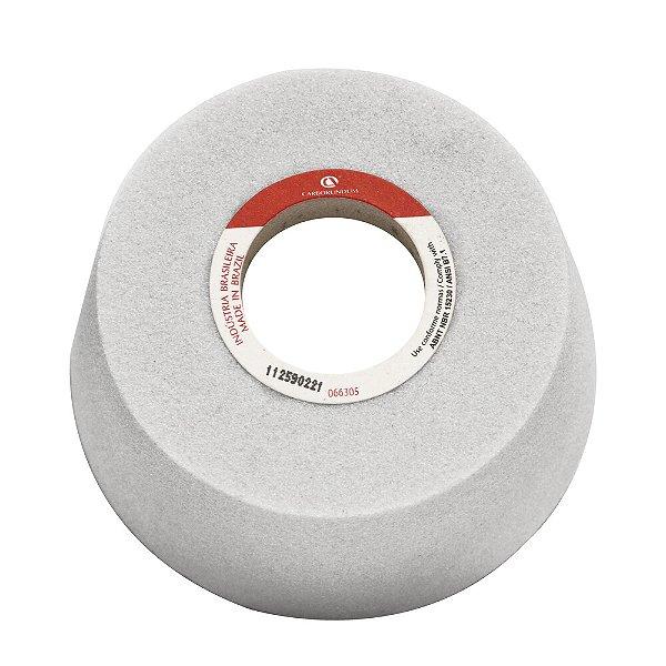 Caixa com 4 Rebolo Ferramentaria Óxido de Alumínio Branco Copo Cônico 101,6 x 50,8 x 31,75 mm 11A AA60 K8V40W