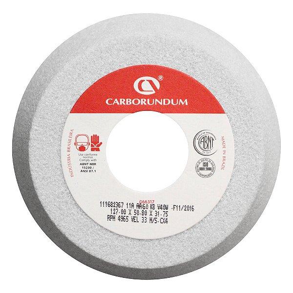 Caixa com 4 Rebolo Ferramentaria Óxido de Alumínio Branco Copo Cônico 127 x 50,8 x 31,75 mm 11A AA60 K8V40W