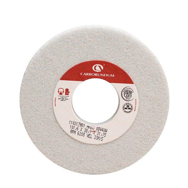 Caixa com 4 Rebolo Ferramentaria Óxido de Alumínio Branco Copo Reto 101,6 x 38,1 x 31,75 mm 6A AA60 K8V40W