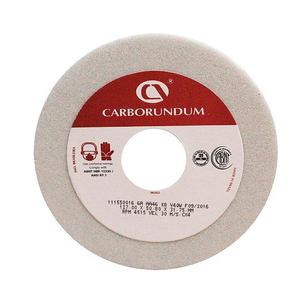 Caixa com 4 Rebolo Ferramentaria Óxido de Alumínio Branco Copo Reto 127 x 50,8 x 31,75 mm 6A AA46 K8V40W