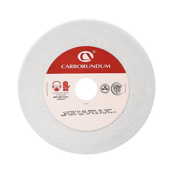 Caixa com 2 Rebolo Ferramentaria Óxido de Alumínio Branco Copo Reto 203,2 x 101,6 x 31,75 mm 6A AA46 K8V40W