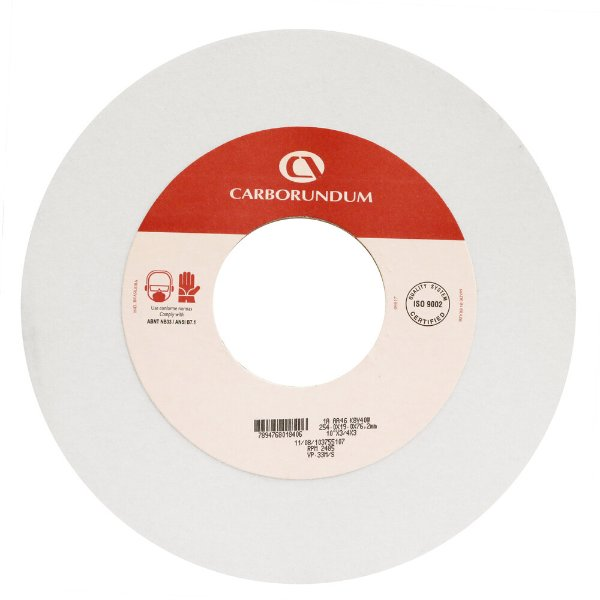 Caixa com 3 Rebolo Ferramentaria Óxido de Alumínio Branco Reto 254,0 x 25,4 x 76,20 mm 1A AA46 K8V40W