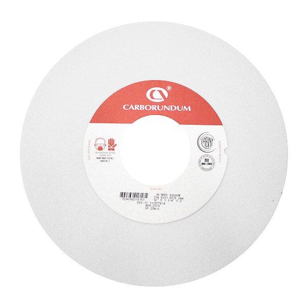 Caixa com 2 Rebolo Ferramentaria Óxido de Alumínio Branco Reto 304,8 x 31,8 x 76,20 mm 1A AA60 K8V40W