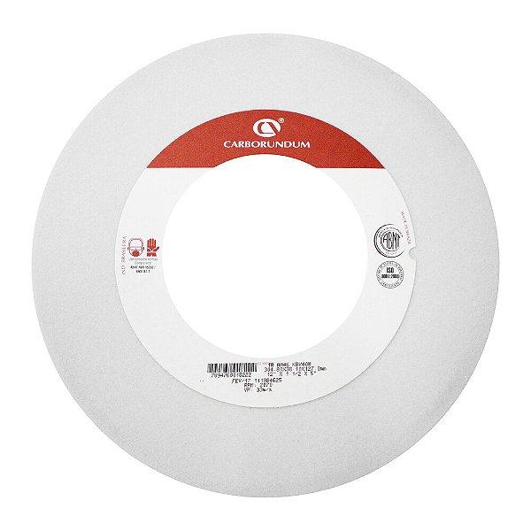 Caixa com 2 Rebolo Ferramentaria Óxido de Alumínio Branco Reto 304,8 x 38,1 x 127,00 mm 1A AA46 K8V40W