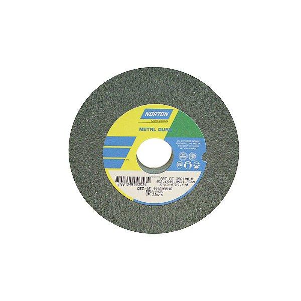 Caixa com 3 Rebolo Metal Duro Carberto de Silício Verde Reto 152,4 x 19,0 x 31,75 mm ART FE 39C100K