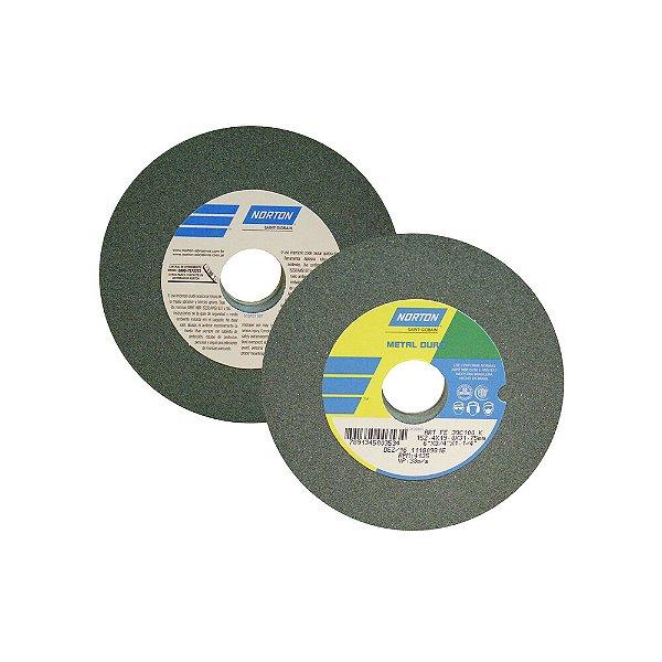 Rebolo Metal Duro Carberto de Silício Verde Reto 152,4 x 19,0 x 31,75 mm ART FE 39C100K Caixa com 3