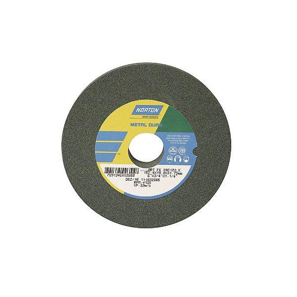 Caixa com 3 Rebolo Metal Duro Carberto de Silício Verde Reto 152,4 x 19,0 x 31,75 mm ART FE 39C120K