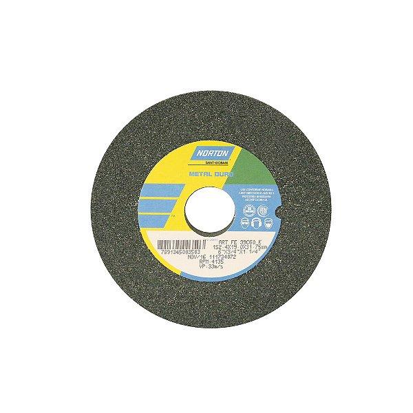 Caixa com 3 Rebolo Metal Duro Carberto de Silício Verde Reto 152,4 x 19,0 x 31,75 mm ART FE 39C60K