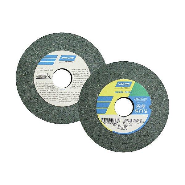 Caixa com 3 Rebolo Metal Duro Carberto de Silício Verde Reto 152,4 x 25,4 x 31,75 mm ART FE 39C120K