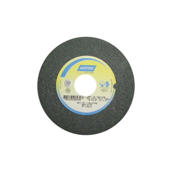 Caixa com 3 Rebolo Metal Duro Carbeto de Silício Verde Reto 152,40 x 12,70 x 31,75 mm 39C100KVK
