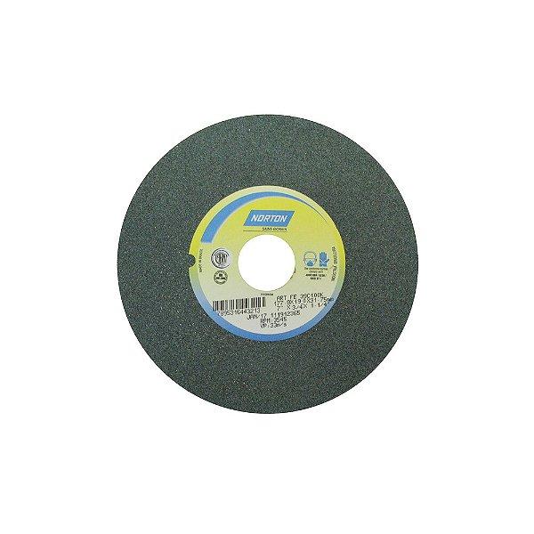 Caixa com 3 Rebolo Metal Duro Carbeto de Silício Verde Reto 177,80 x 19 x 31,75 mm 39C100KVK