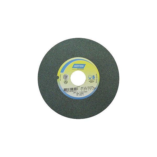 Caixa com 3 Rebolo Metal Duro Carbeto de Silício Verde Reto 177,80 x 25,40 x 31,75 mm 39C100KVK