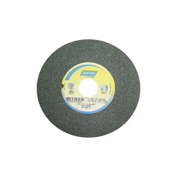 Rebolo Metal Duro Carbeto de Silício Verde Reto 177,80 x 25,40 x 31,75 mm 39C80KVK Caixa com 3