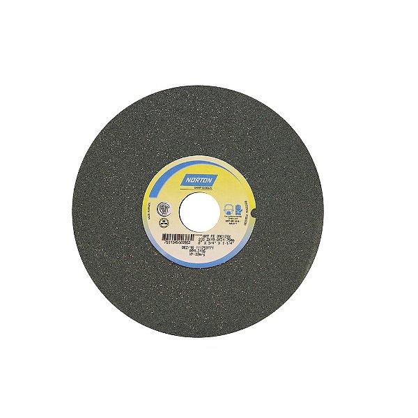 Caixa com 3 Rebolo Metal Duro Carbeto de Silício Verde Reto 203,20 x 19 x 31,75 mm 39C120KVK