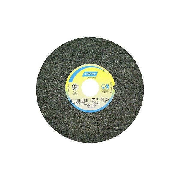 Caixa com 3 Rebolo Metal Duro Carbeto de Silício Verde Reto 203,20 x 19 x 31,75 mm 39C60KVK