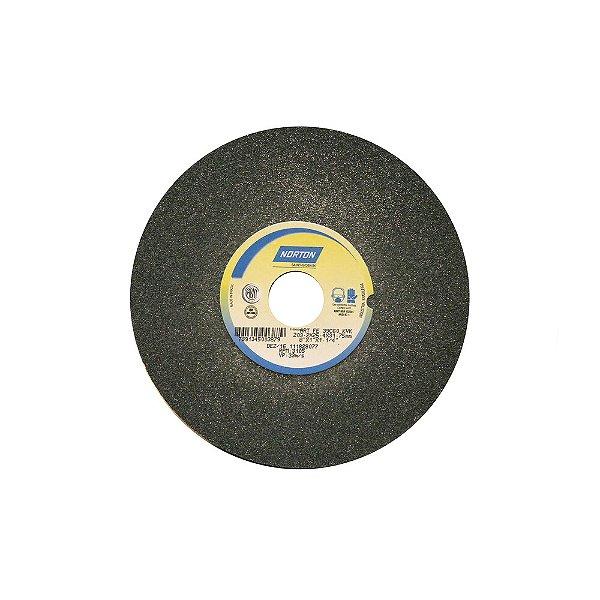 Caixa com 3 Rebolo Metal Duro Carbeto de Silício Verde Reto 203,20 x 25,40 x 31,75 mm 39C60KVK